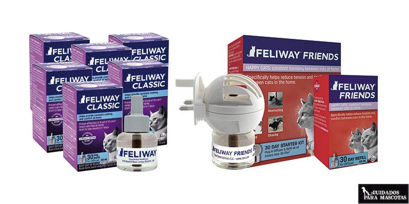 Feliway Classic y Feliway Friends