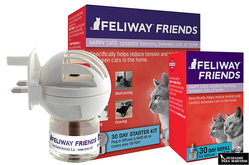 Feliway Friends evita las disputas entre gatos