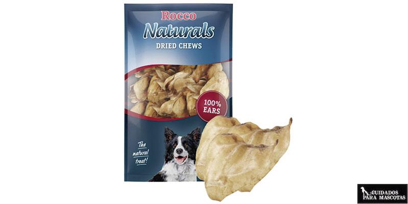 Las orejas de buey son unos snacks saludables para tu perro