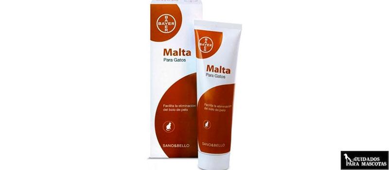 Malta de Bayer para Gatos, con 100% de pureza