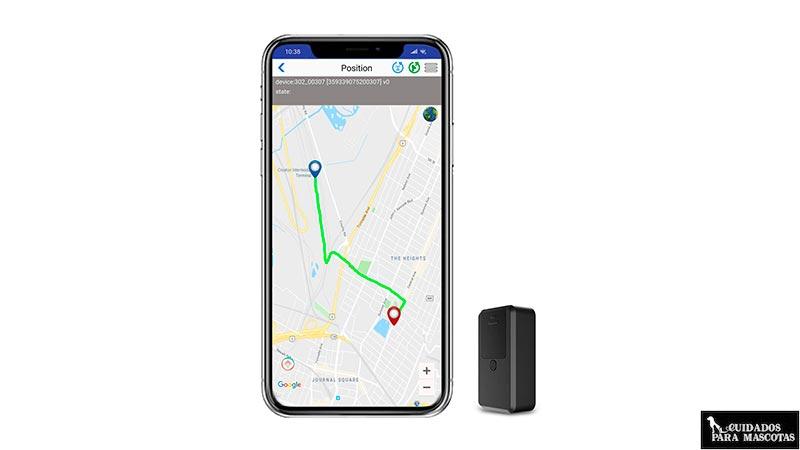GPS con app para smartphone