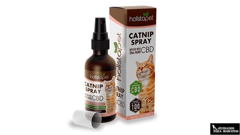 Spray de catnip para gatos