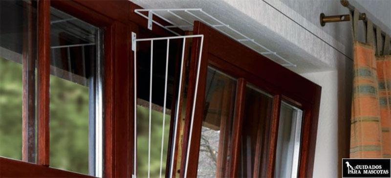 Rejilla para ventana basculante