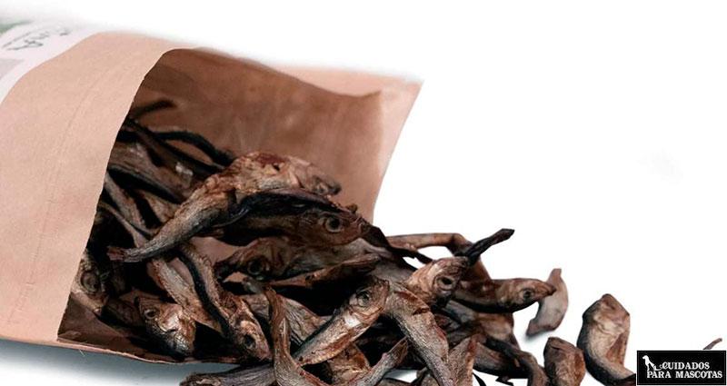 Snacks de pescado