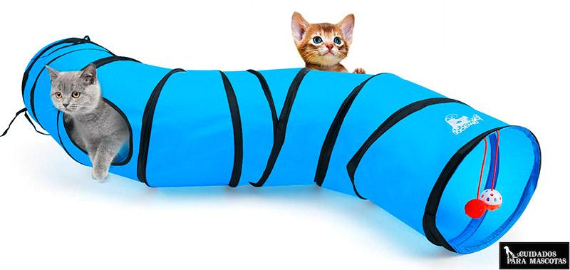 Túneles para gatos plegables